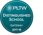 PLTW Distinguished School Badge